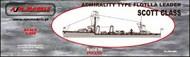 AJM Models  1/350 HMS Admiralty Type Scott class destroyer flotilla leader AJM350-003