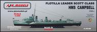 HMS Campbell (1942 fit) AJM350-008