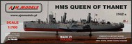 AJM Models  1/700 HMS Queen of Thanet British armed paddle steamer WWII AJM700-002