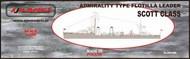 AJM Models  1/700 HMS Admiralty Type Scott class destroyer flotilla leader AJM700-003