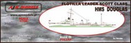 AJM Models  1/700 HMS Douglas AJM700-006