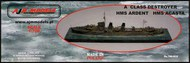 AJM Models  1/700 'A Class' destroyer HMS Ardent / HMS Acasta AJM700-010