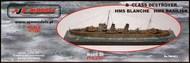 AJM Models  1/700 'B Class' destroyer HMS Blanche / HMS Basilisk AJM700-011