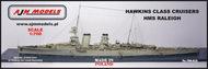 HMS Raleigh Light Cruiser (Hawkins class) #AJM700-013