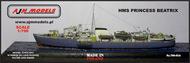 AJM Models  1/700 HMS Princess Beatrix Commando Troop Ship AJM700-014