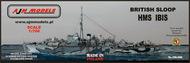 AJM Models  1/700 HMS Ibis British sloop AJM700-020