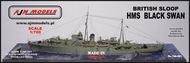 AJM Models  1/700 HMS Black Swan British Sloop AJM700-021