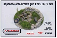 AJM Models  1/72 Japanese gun TYPE 88-75 mm AJMG72-01