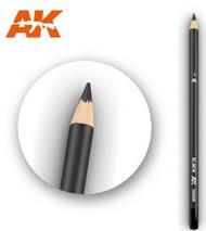 AK Interactive  AKI Weathering Pencils Weathering Pencils: Black AKI10001