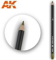 Weathering Pencils: Olive Green #AKI10006