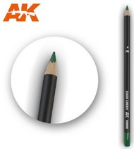 AK Interactive  AKI Weathering Pencils Weathering Pencils: Dark Green AKI10008