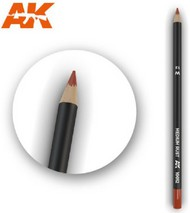 AK Interactive  AKI Weathering Pencils Weathering Pencils: Medium Rust - Pre-Order Item AKI10012