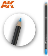 AK Interactive  AKI Weathering Pencils Weathering Pencils: Light Blue AKI10023
