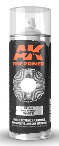 Fine White Lacquer Primer 200ml Spray #AKI1042