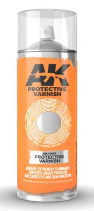 Protective Lacquer Varnish 200ml Spray #AKI1043