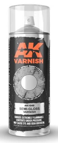 Semi-Gloss Lacquer Varnish 400ml Spray #AKI1046