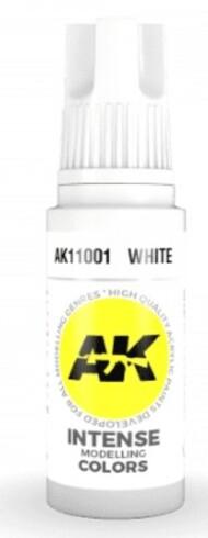 AK Interactive  AK Acrylics White Acrylic Paint 17ml Bottle AKI11001