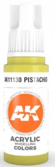 AK Interactive  AK Acrylics Pistachio Acrylic Paint 17ml Bottle AKI11130