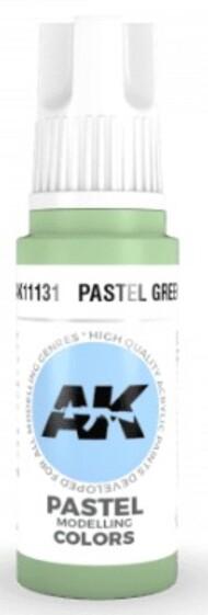 AK Interactive  AK Acrylics Pastel Green Acrylic Paint 17ml Bottle AKI11131