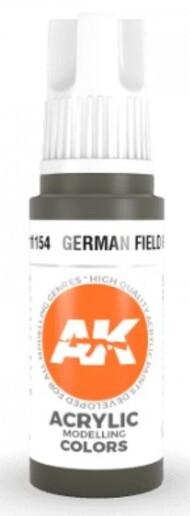 AK Interactive  AK Acrylics German Field Grey Acrylic Paint 17ml Bottle AKI11154