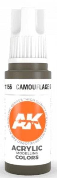 AK Interactive  AK Acrylics Camouflage Green Acrylic Paint 17ml Bottle AKI11156