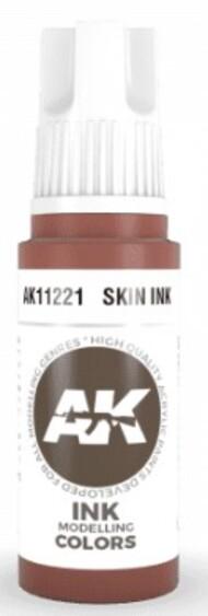 AK Interactive  AK Acrylics Skin Ink Acrylic Paint 17ml Bottle AKI11221