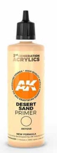 Desert Sand Acrylic Primer 100ml Bottle #AKI11248