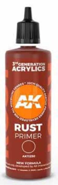 Rust Acrylic Primer 100ml Bottle #AKI11250