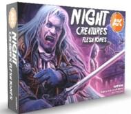 Night Creatures Flesh Tones Acrylic Paint Set (6 Colors) 17ml Bottles #AKI11602