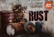 Rust & Abandoned Acrylic Paint Set (6 Colors) 17ml Bottles #AKI11605