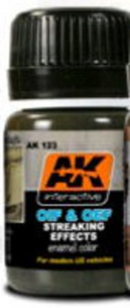 AK Interactive  AK Enamel OIF & OEF US Modern Vehicles Streaking Effects Enamel Paint 35ml Bottle AKI123