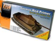 AK Interactive  Primer German Red Primer Special Modulation Acrylic Paint Set (6 Colors) 17ml Bottles (D)<!-- _Disc_ --> AKI124