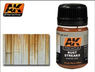 AK Interactive  AK Enamel Rust Streaks Enamel Paint 35ml Bottle AKI13
