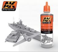 AK Interactive  Primer Grey Acrylic Primer 60ml Bottle AKI175