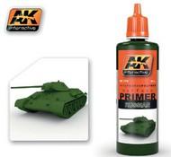 AK Interactive  Primer Russian Green Acrylic Primer 60ml Bottle AKI179
