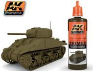 AK Interactive  Primer Olive Drab Acrylic Primer 60ml Bottle AKI182