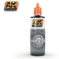 AK Interactive  AK Acrylic Ultra Matte Acrylic Varnish 60ml Bottle AKI183