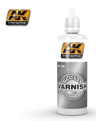 AK Interactive  AK Acrylic Glossy Acrylic Varnish 60ml Bottle AKI192