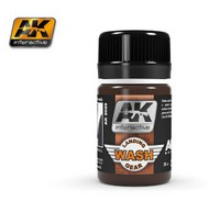 AK Interactive  AK Air Series Air Series: Landing Gear Enamel Wash 35ml Bottle AKI2029