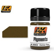 AK Interactive  AK Air Series Air Series: Ochre Rust Pigment 35ml Bottle AKI2043
