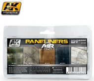AK Interactive  AK Air Series Air Series: Panel Liners Weathering Combo Enamel Paint Set (5 Colors) 35ml Bottle AKI2070