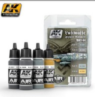 AK Interactive  AK Air Series Air Series: Luftwaffe Fighter Camouflage Acrylic Paint Set (4 Colors) 17ml Bottles AKI2090