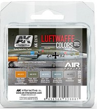 AK Interactive  AK Air Series Air Series: Luftwaffe 1960s-1970s Acrylic Paint Set (5 Colors) AKI2170