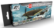 AK Interactive  AK Air Series Air Series: IJAAF Aircraft Acrylic Paint Set (8 Colors) 17ml Bottles AKI2260
