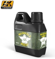 AK Interactive  Washes Washable Agent to Convert Acrylic Paint to Wash Effect 100ml Bottle AKI236