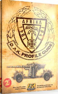 AK Interactive   N/A Afrika 1941-1943 DAK Profile Guide Book 2nd Edition AKI271