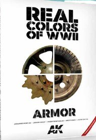 Real Colors of WWII Armor New 2nd Extended & Updated Version Book - Pre-Order Item #AKI299