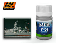 AK Interactive  Washes Kriegsmarine Ships Grey Wash Enamel Paint 35ml Bottle AKI303