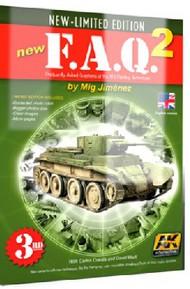 FAQ 2 AFV Painting Techniques Book by Mig Jimenez (5th Edition) #AKI38