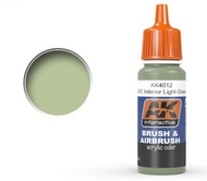 AK Interactive  AK Acrylic APC Interior Light Green Acrylic Paint 17ml Bottle AKI4012
